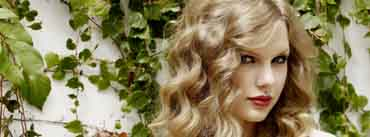 Taylor Swift Curly Hair Cover Photo