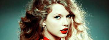 Taylor Swift Red Lips Cover Photo