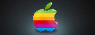 Colorful Apple 3d Cover Photo