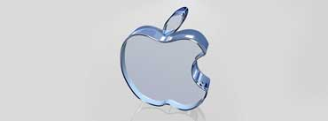 Apple Glass Logo Cover Photo