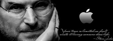 Steve Jobs Quote Cover Photo