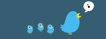 Twitter Birds Singing Cover Photo