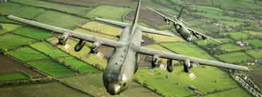 Military Transport Aircraft C 130k Hercules Cover Photo