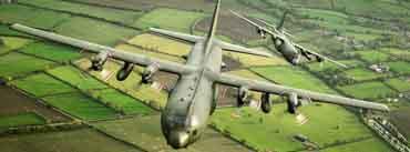 Military Transport Aircraft C 130k Hercules Cover Photo