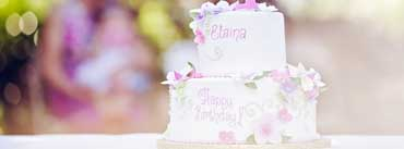 2 Tier Birthday Cakes Cover Photo