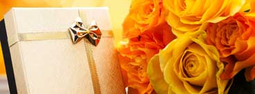 Birthday Gift And Flowers Cover Photo