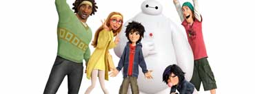 Big Hero 6 Characters Cover Photo