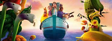 Cloudy With A Chance Of Meatballs 2 Revenge Of The Leftovers Cover Photo