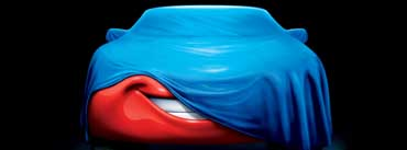 Covered Mcqueen Car Cover Photo