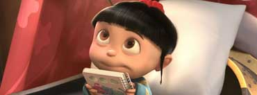 Despicable Me 2 Agnes Cover Photo