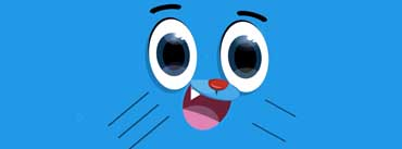 Gumball Face Cover Photo