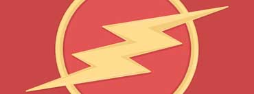 The Flash Logo Cover Photo