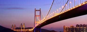 Tsing Ma Bridge Hong Kong Cover Photo