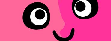 Funny Pink Face Cover Photo