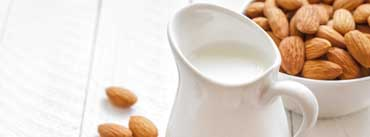 Almonds And Milk Cover Photo