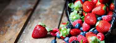 Berries In Basket Cover Photo