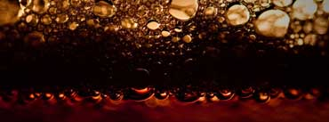 Black Beer Bubbles Cover Photo