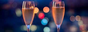 Champagne Glasses Cover Photo