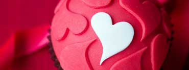Pink Heart Cake Cover Photo