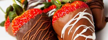 Strawberries Covered With Chocolate Cover Photo