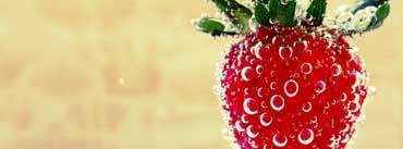 Underwater Strawberry Macro Cover Photo