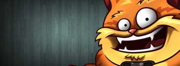 Funny Cat Cartoon Cover Photo