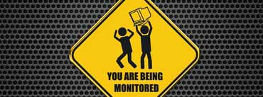 You Are Being Monitored Cover Photo