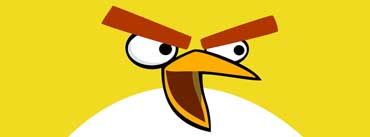 Yellow Angry Birds Cover Photo