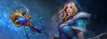 Crystal Maiden Dota Cover Photo