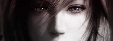 Final Fantasy Xiii Lightning Face Cover Photo