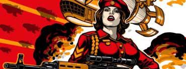 Soviet Army Girl Cover Photo