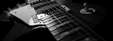 Black Guitar Cover Photo