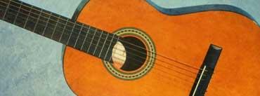 Orange Guitar Cover Photo