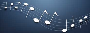 Musical Notes Cover Photo