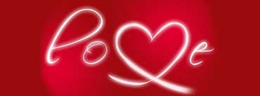 Love Lettering Red White Cover Photo