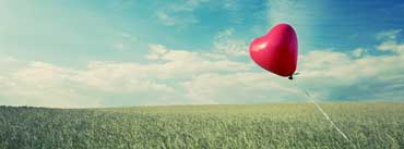 Balloon Heart Flying Cover Photo