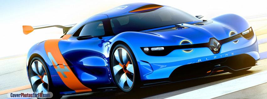 Renault Alpine Concept Car Cover Photo