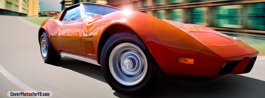 Chevrolet Corvette Orange Cover Photo