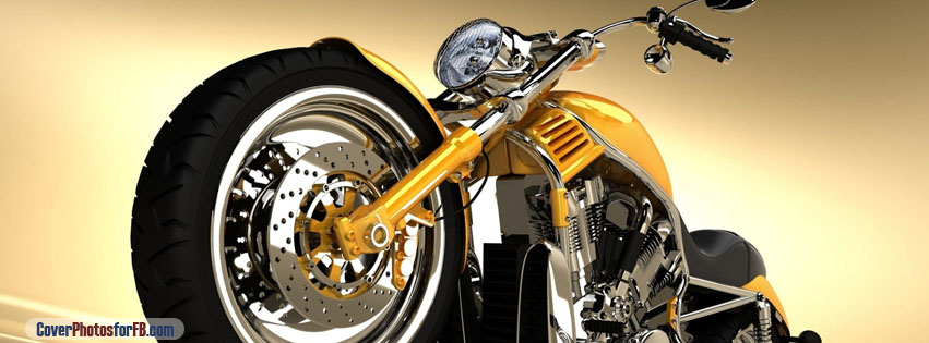 Motorcycle 3d Cover Photo