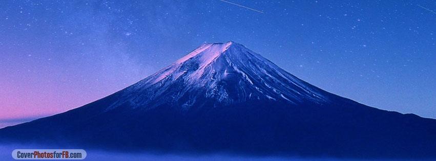 Fuji Mountain Sky Night Cover Photo