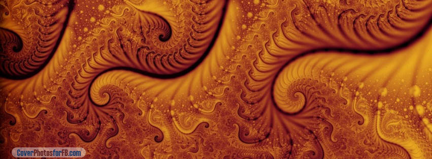 Orange Fractal Cover Photo