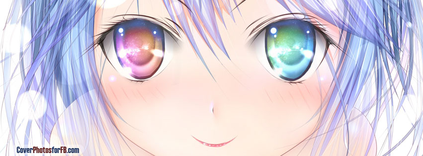 Big And Colors Eyes Girl Cover Photo