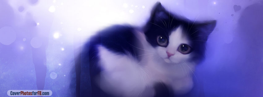 Cute Kitty Painting Cover Photo