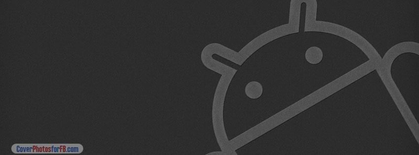 Android Logo Dark Cover Photo