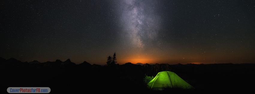 Windows 10 Night Sky Cover Photo