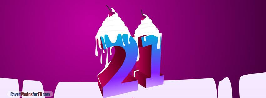 21 Happy Birthday Cover Photo