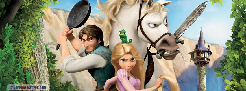 Tangled Rapunzel Flynn And Maximus Cover Photo