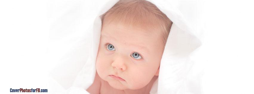 Cute Newborn Baby Boy Cover Photo