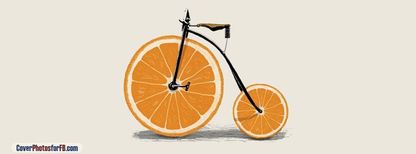 Orange Bicycle Cover Photo