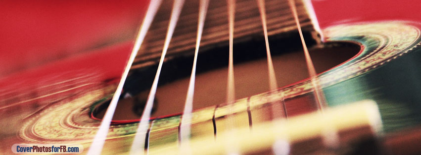 Acoustic Guitar Background Cover Photo